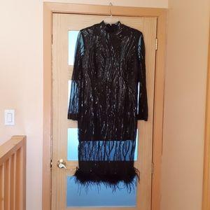 Elegant Little Black Dress.